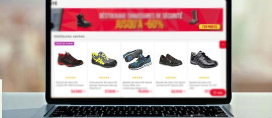 Achat en ligne de chaussures de securite legeres